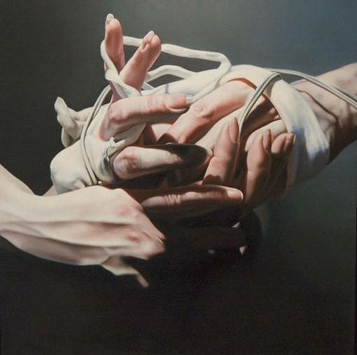 István Sándorfi逼真的写实主义人物油画作品