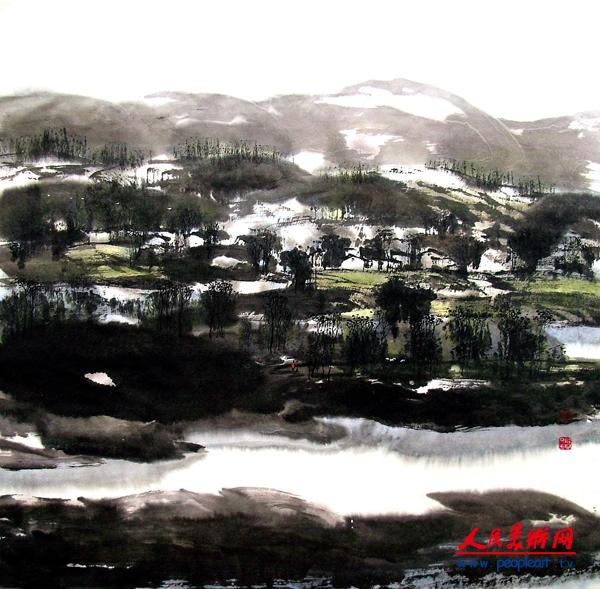 53-故乡的原野--王福增,作于2011年.png