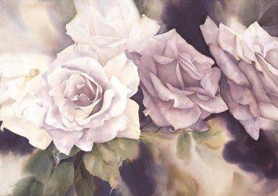 Jeanne Bonine精美花卉水彩作品欣赏