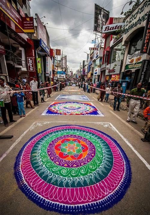 印度地画作品