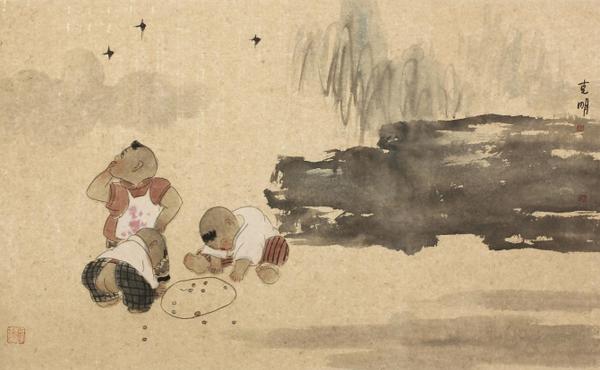 沈克明国画作品欣赏图片