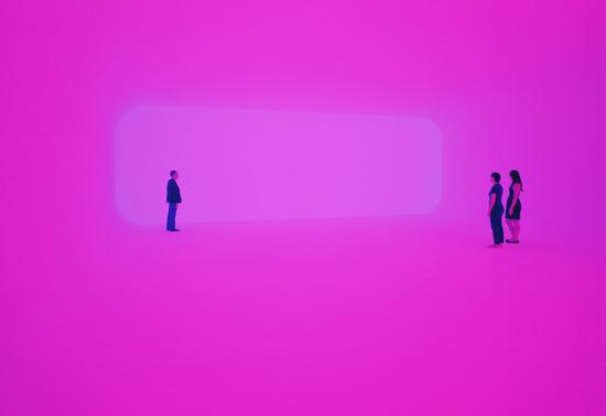 詹姆斯·特瑞尔《Breathing Light》,2013年。图片:致谢Pace Gallery