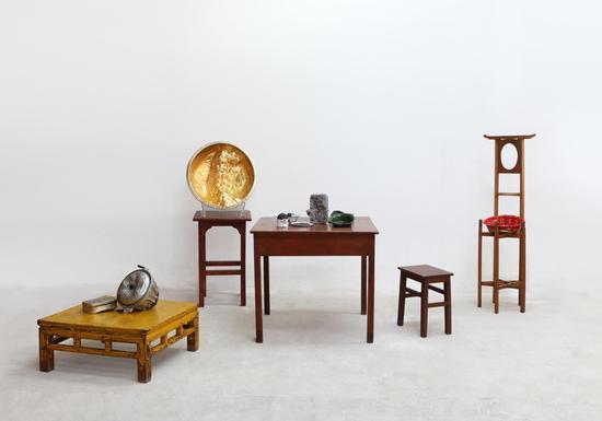 谭勋《李明庄计划2011-1#》综合材料、尺寸可变 2009-2011