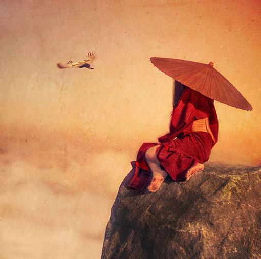 摄影师Reylia Slaby的日式风格人像摄影