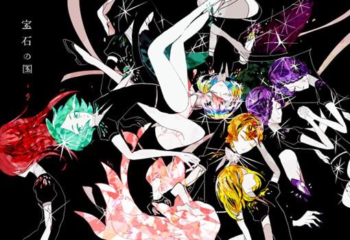 日本插画师nagano10纯日系梦幻风格的手绘插画