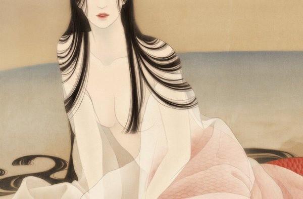 松浦シオリ的女性人体工笔画图片