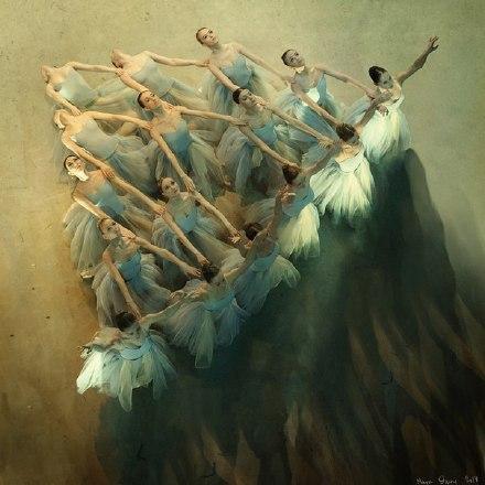 摄影师Mark Olich芭蕾舞摄影作品