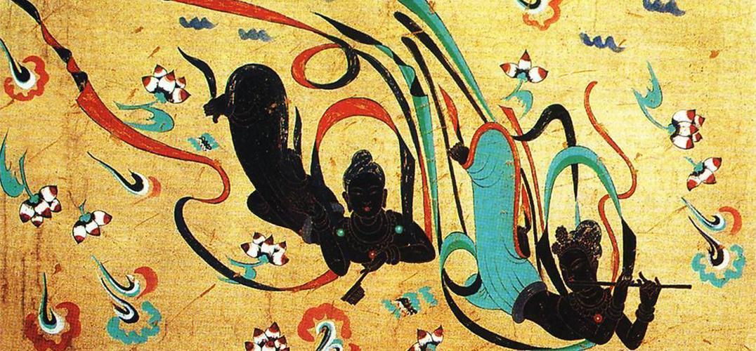 敦煌壁画艺术精品首次亮相维也纳(组图)图片