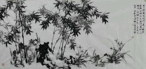 文人写心与乡土气息(组图)