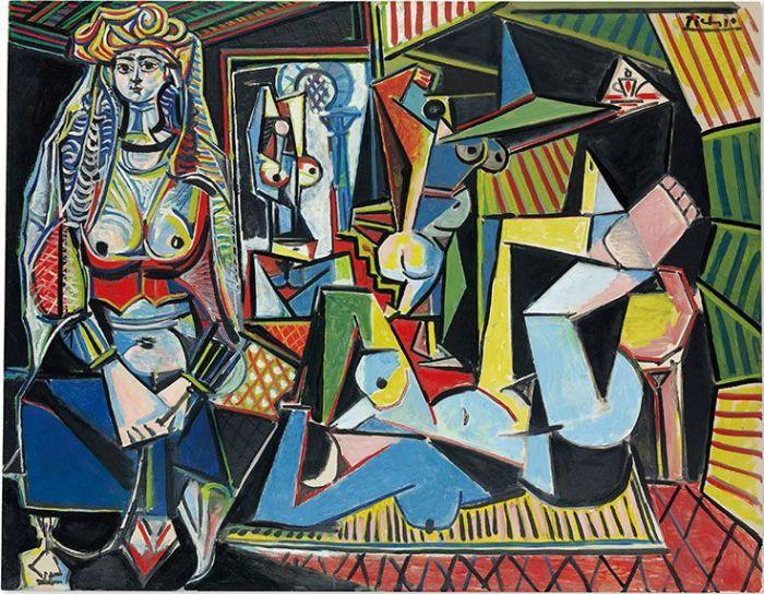 """保罗·毕加索的《阿尔及尔的女人(""""O版"""")》"""
