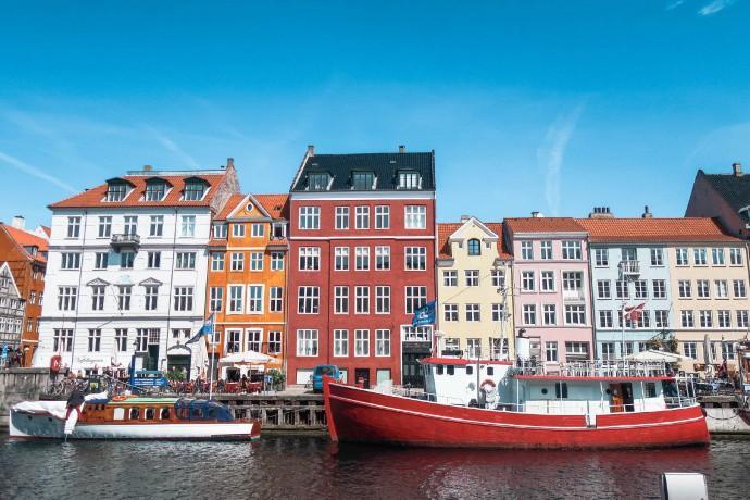 哥本哈根唯美城市风光摄影图片