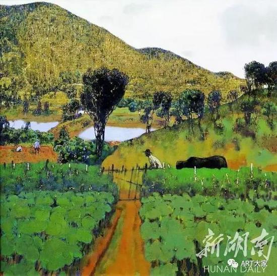 陈和西作品:《田园》