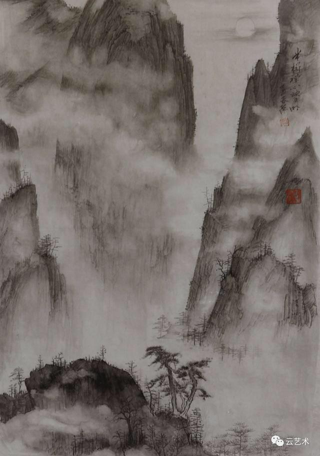 你竟然还以为中国画就是水墨画?(组图)