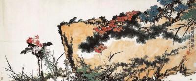 潘天寿《记写雁荡山花图》(本版图片均为资料图片)