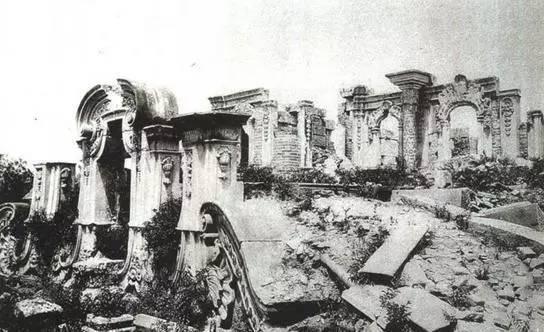 英法联军火烧圆明园