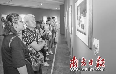 5日闭幕当天,市民观展的热情依然不减。南方日报记者 罗斌豪 摄