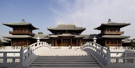 上海宝山寺天王殿