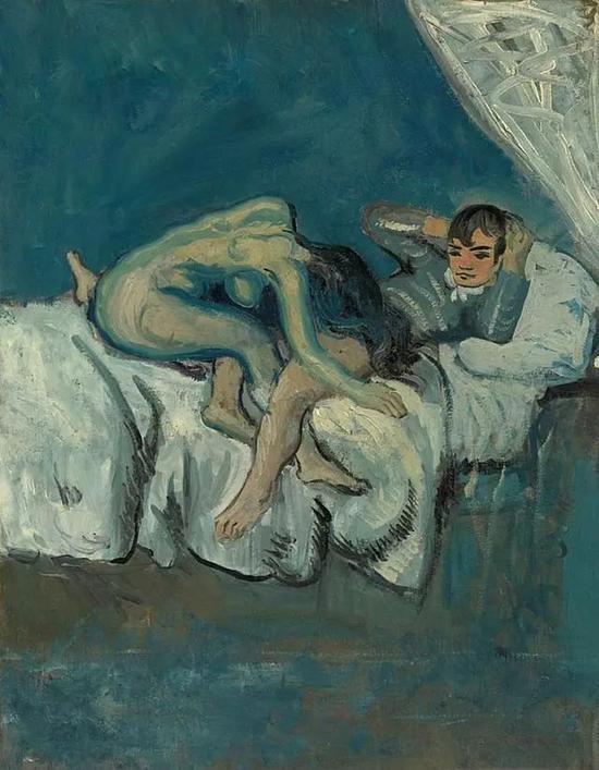 毕加索 Picasso - La Douleur 疼痛