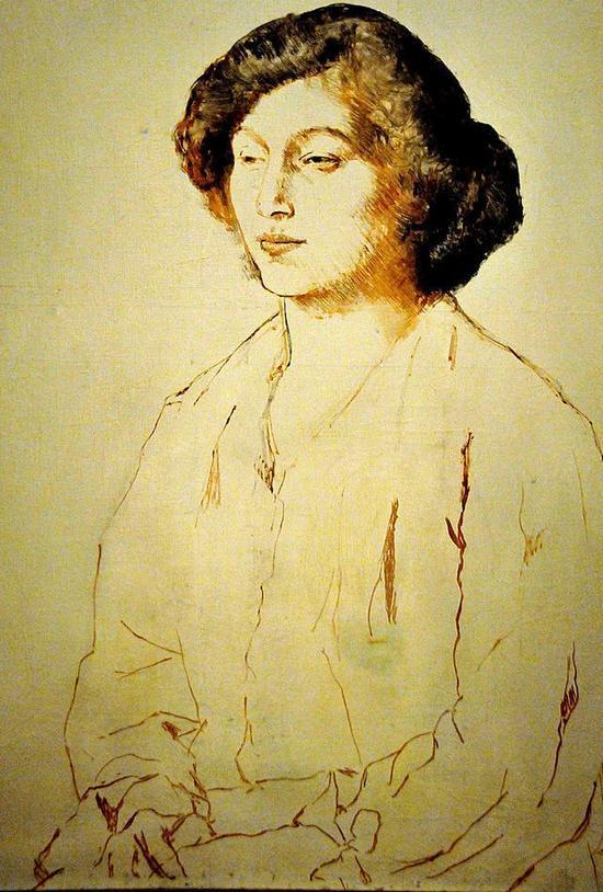 毕加索 Picasso - Portrait of Fernande Olivier