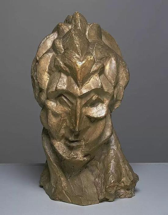 毕加索 Picasso - Head of a Woman (Fernande)