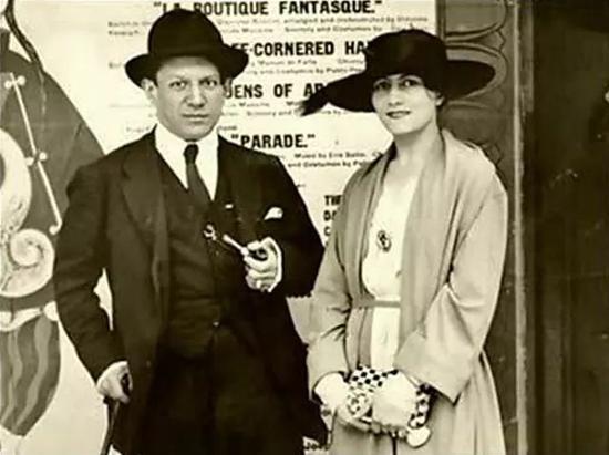 毕加索和艾娃·谷维