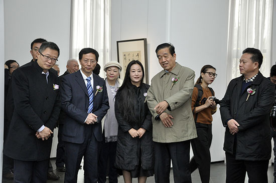 """""""莫近乎书——刘石书法展""""在亿美术馆开幕"""