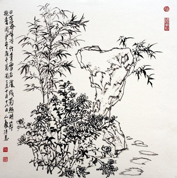 2-残菊抱香伴竹石.jpg