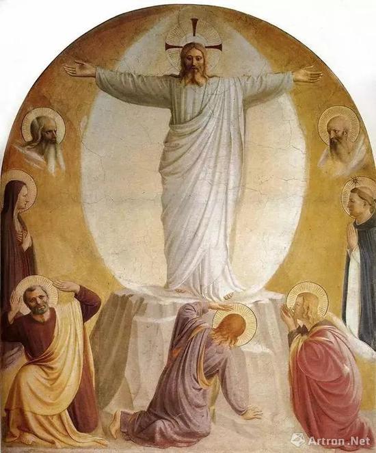 """弗拉·安吉利科""""基督变容"""""""