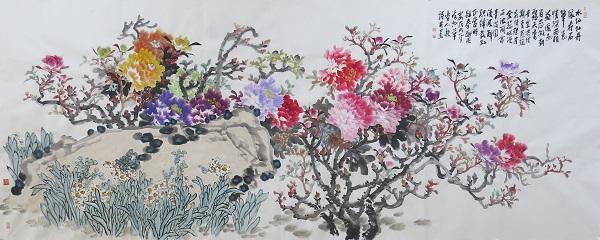 春酣图  145x360cm  2018年  李人毅.jpg
