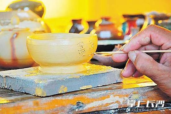 →铜官窑,瓷泥的魅力。  磊鑫 摄