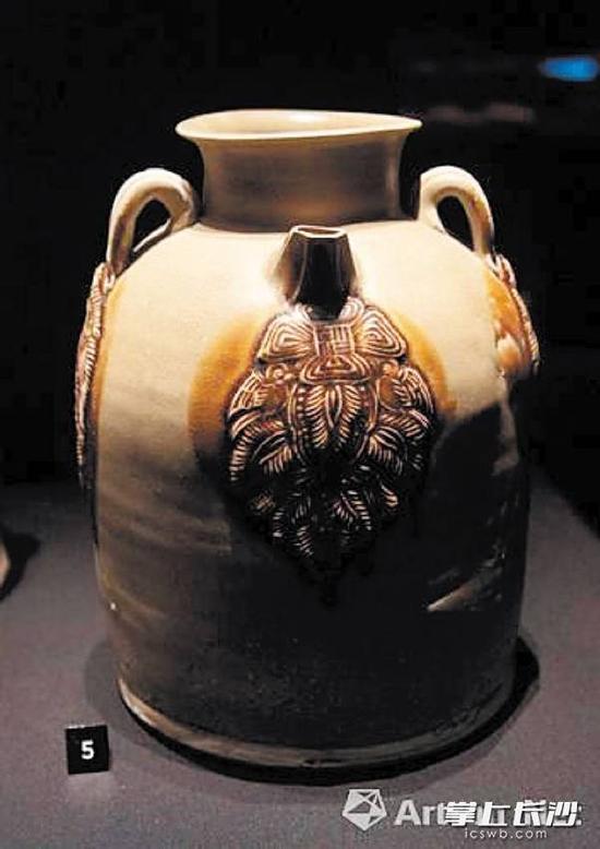 具有独特风格的铜官窑瓷器。本版照片除署名外均为受访者提供