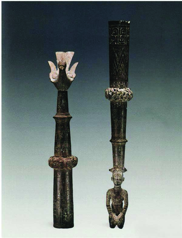 青铜鸠杖 春秋(前770-前476年)