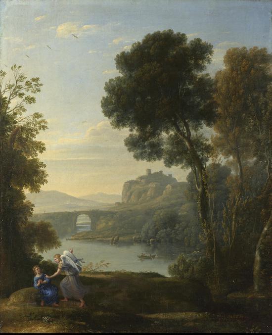 画廊 安德鲁斯:风景画让我们离自然是近还是远(组图)  从17世纪至19