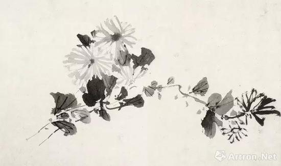 徐渭 杂花图(局部之一)