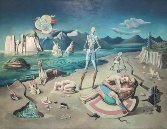 鲁道夫-施莱希特的超现实主义绘画图片