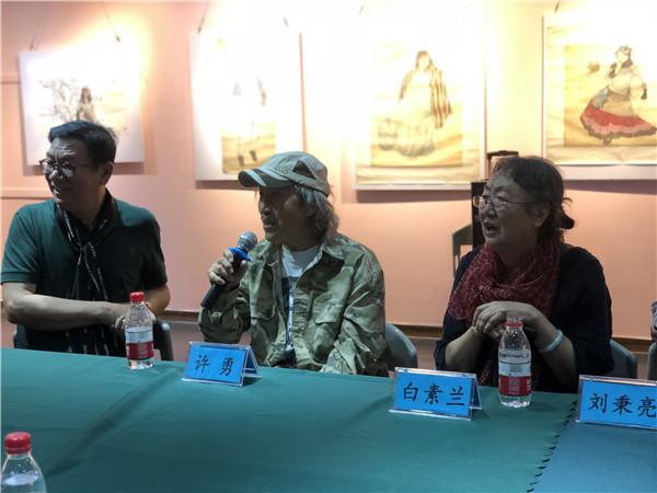 素心如兰 历久弥香白素兰从艺60年书画展在