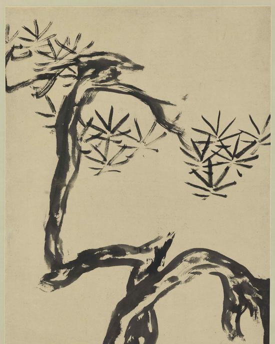 朱耷(八大山人) 松石图