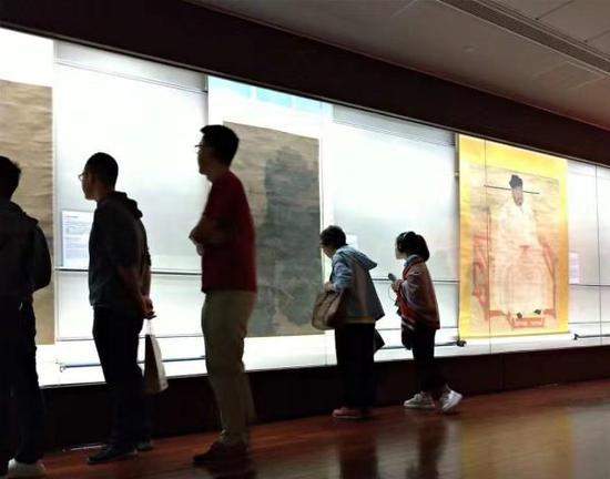 台北故宫10月4日展览现场