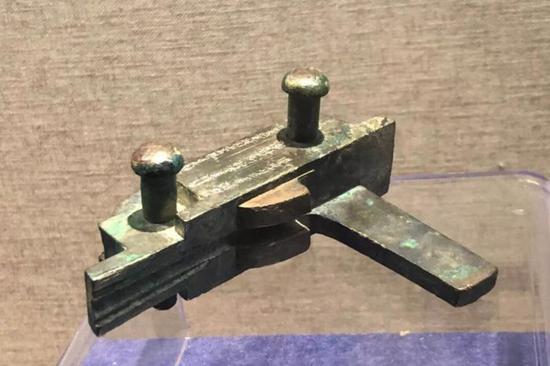 弩机,汉代,四川博物馆藏