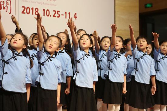 天使童声合唱团演唱