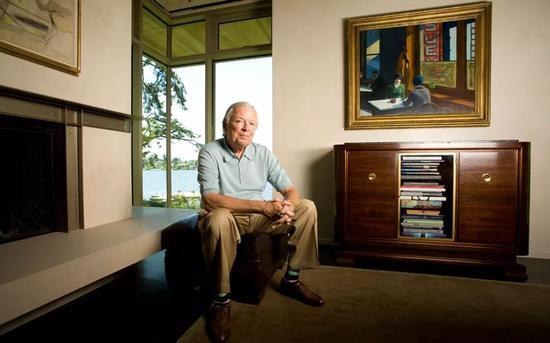 美国二十世纪现代艺术最重要的收藏家巴尼-艾伯斯渥斯(Barney A Ebsworth )照片:Brian Smale