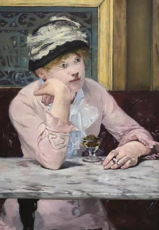 〔法〕爱德华·马奈 《梅子》 布面油画