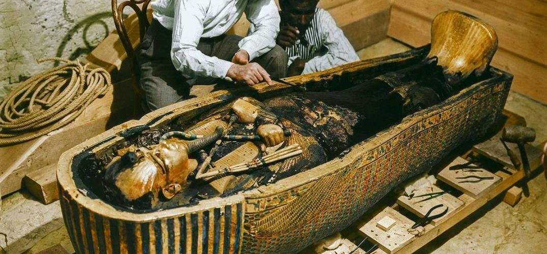 古埃及法老图坦卡蒙墓室修复完成