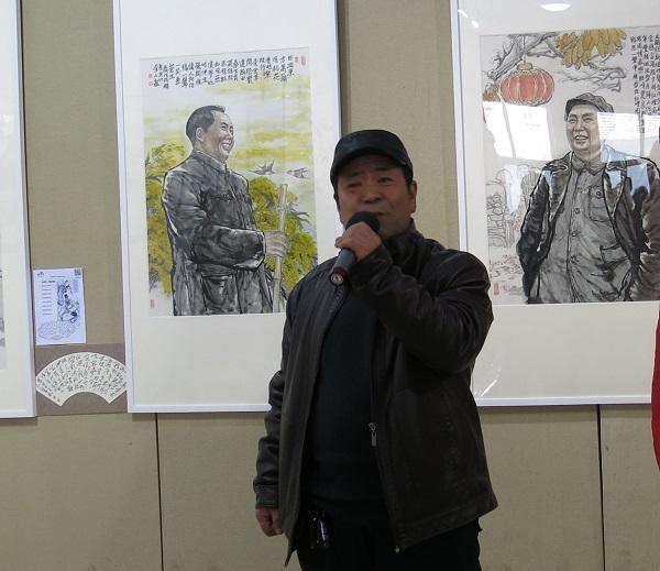 东书房艺术馆学术委员会委员崔文哲在开幕式上讲话.jpg