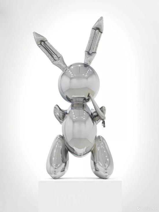 杰夫·昆斯《兔子》