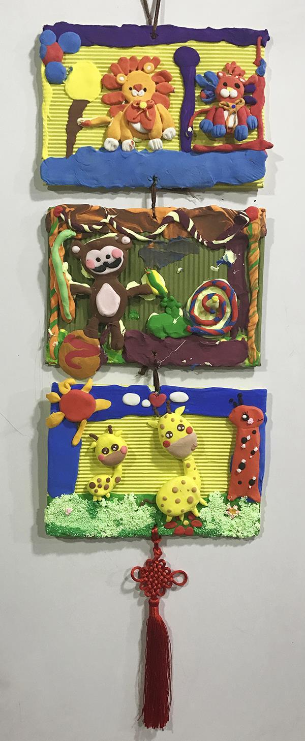 J860001032-墨蘭艺术工坊-钱羽-男-6岁-《新年挂画》-指导老师:鲍安娜、翟蕾.jpg