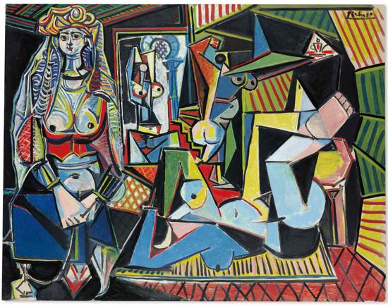No.1毕加索 《阿尔及尔的女人(版本O)》1955年