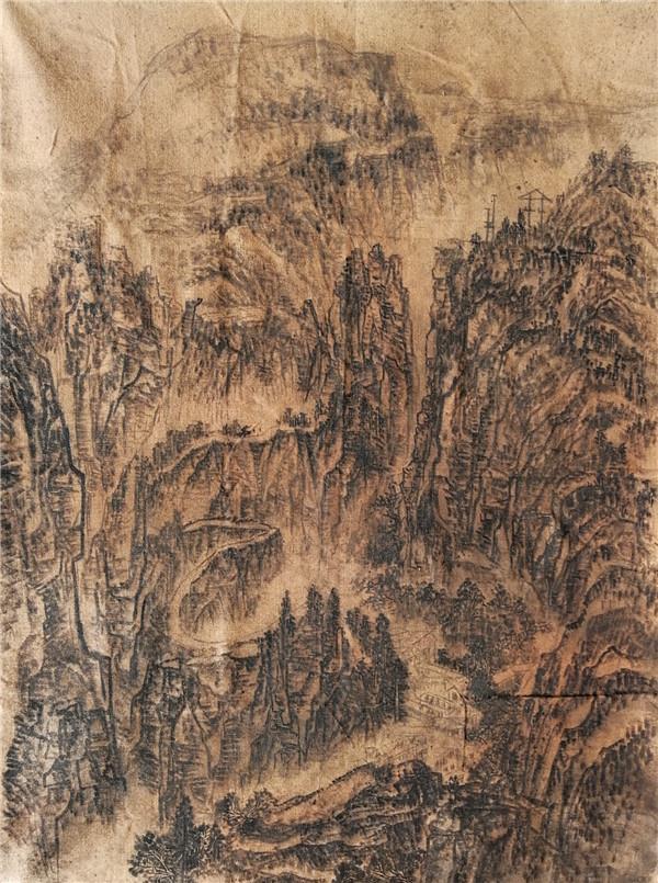 (八里沟天界山峡谷)尺寸 200X160.jpg
