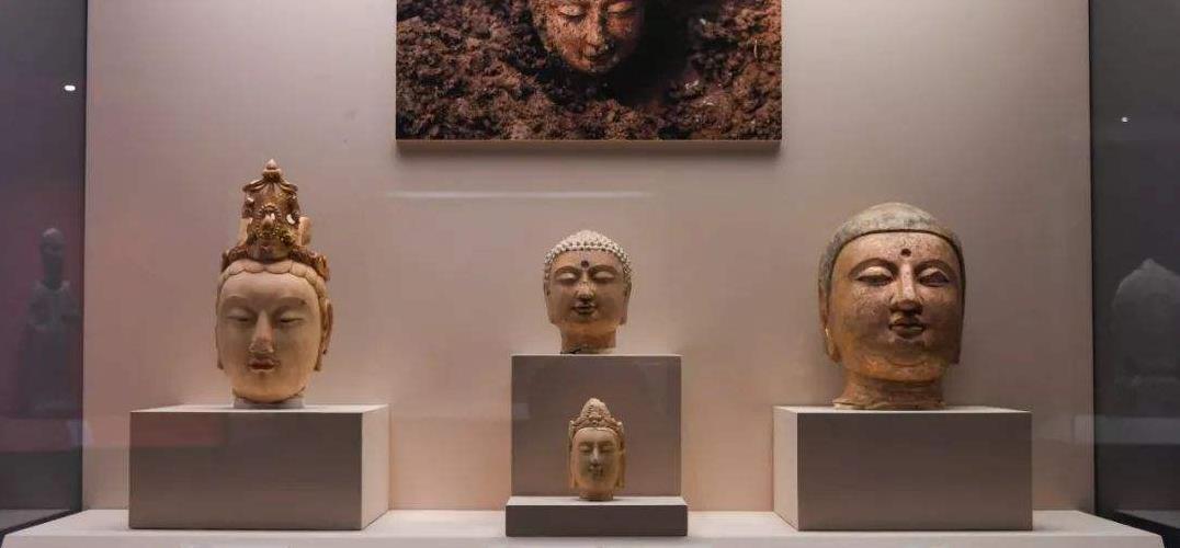邺城遗址千佛出世 青石造像形制经典