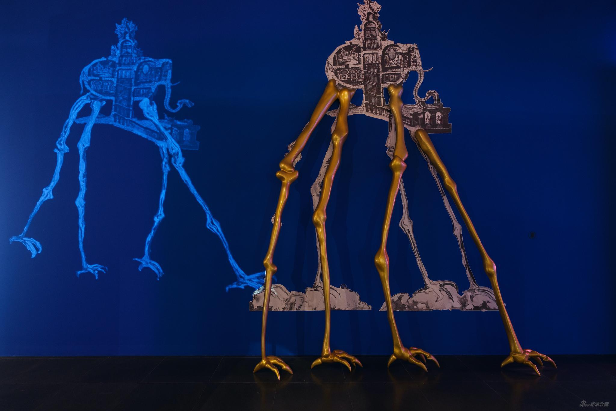 《太空大象》装置及动画